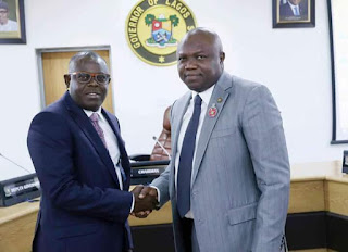 Mr. Sesan Ogundeko was sworn-in as the Permanent Secretary in the Lagos State Civil Service today.
