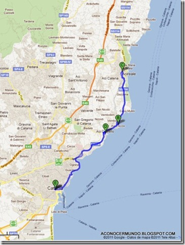 Itinerario-desde-Catania-a-Acireale_