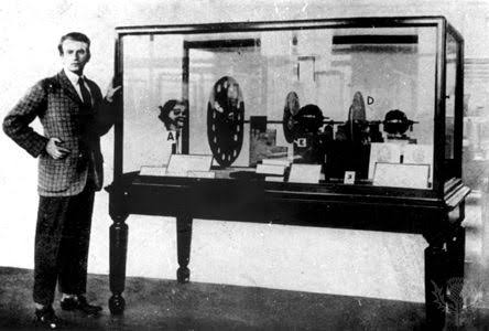 First television, Logie bared,