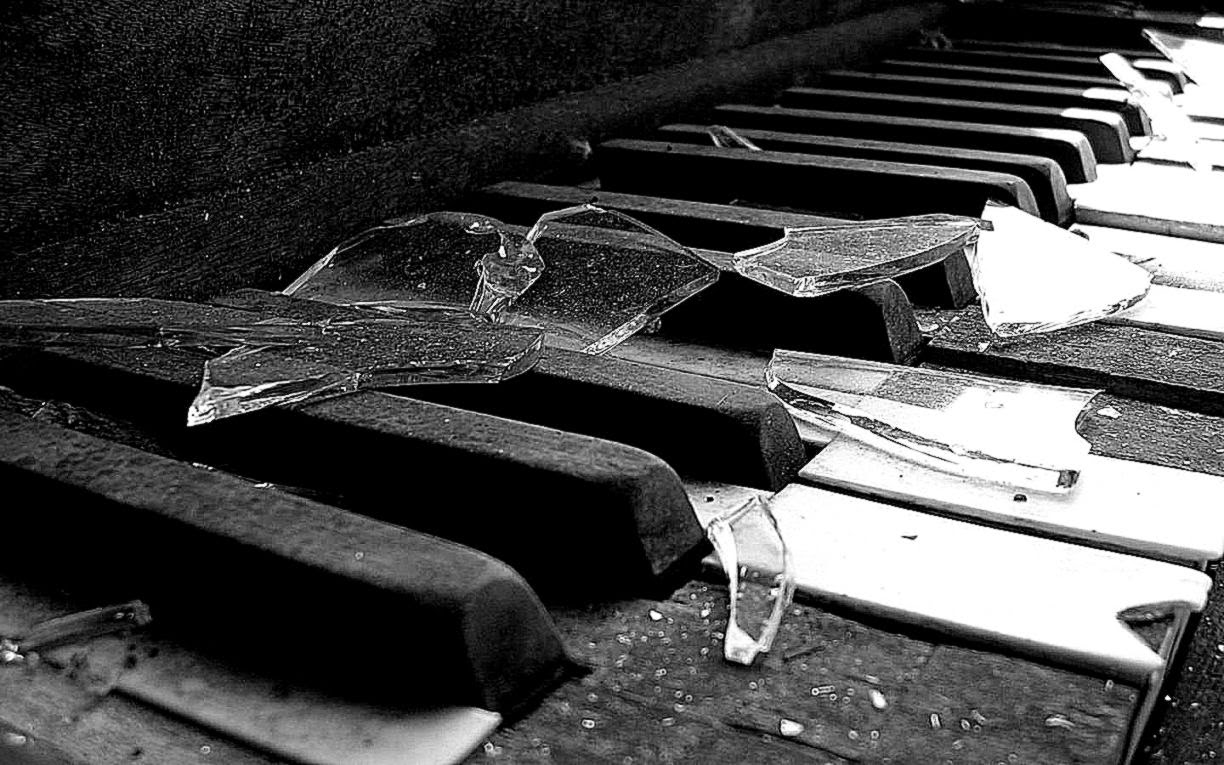 abstract piano art wallpaper - photo #1