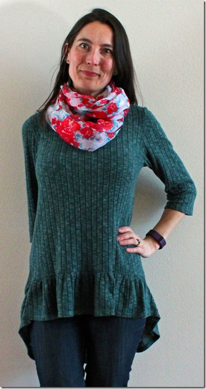 Two On Two Off Kwik Sew 4134 Founcy Knit Top