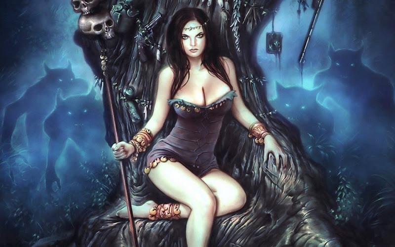 Queen Of Dead Army, Demonesses
