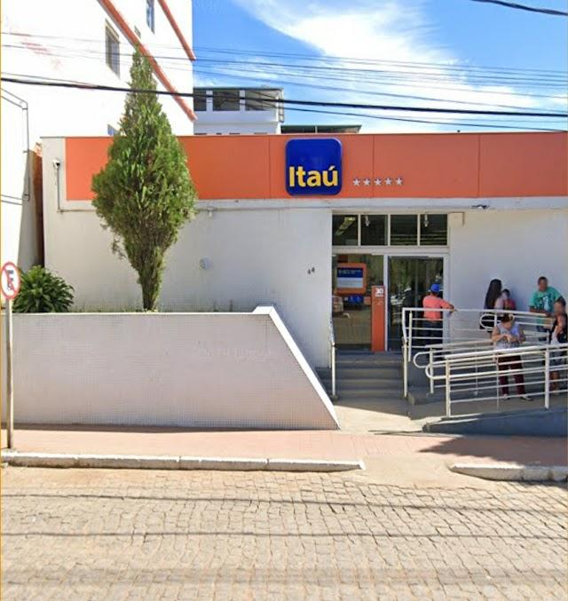 Agência do Itaú de Divino retorna ao funcionamento