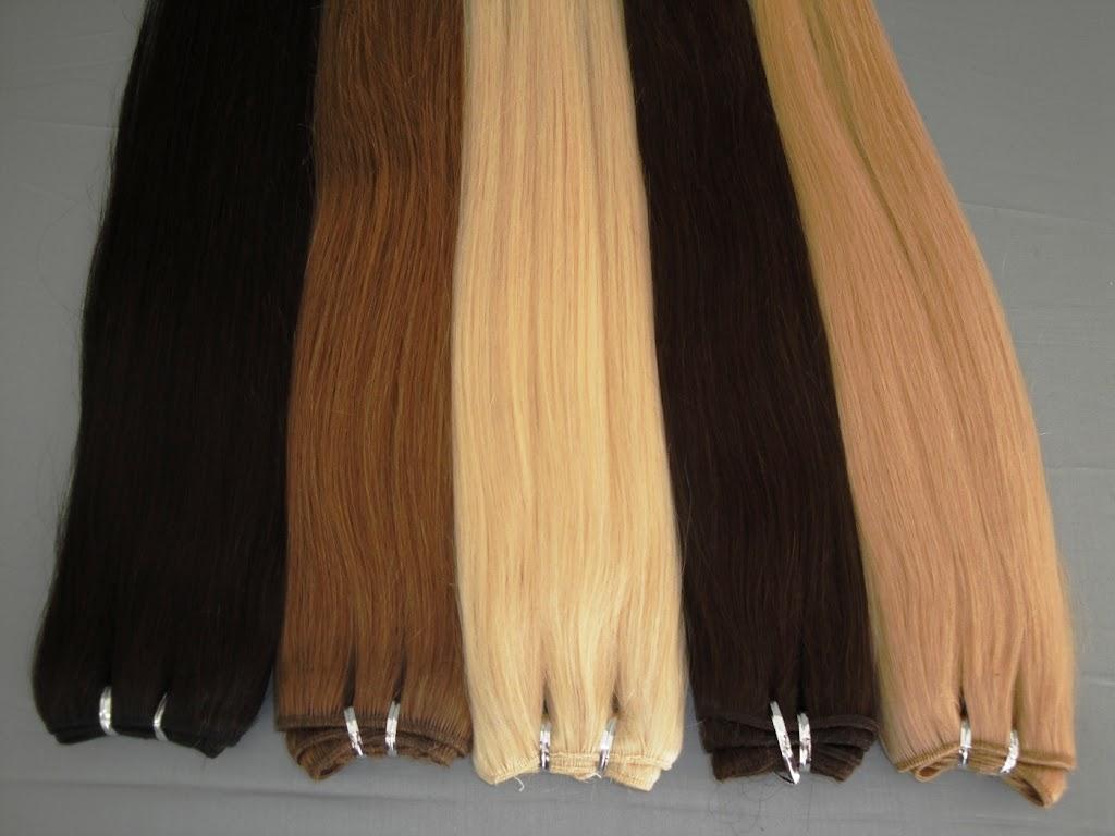 Extensiones de cortina cabello natural 100gr y 65cm de largo ebay - Extensiones cortina ...
