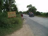 The main road outside Amarpurkashi