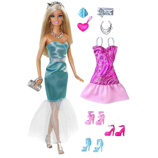 Búp bê Barbie tỏa sáng Sparkle and Shine Fashions