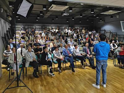 2018年9月12日,培正中學新任校長何力高(1991年勇社)在培正同學會月會暢談他的教育理念。