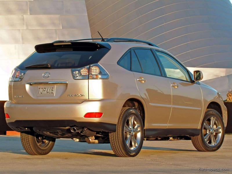 2006 Lexus RX 400h SUV Specifications, Pictures, Prices