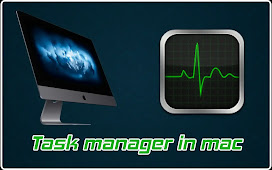 Task manager in mac