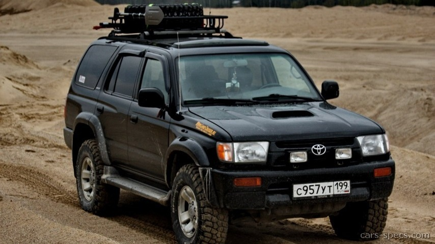 1998 toyota 4runner suv specifications pictures prices. Black Bedroom Furniture Sets. Home Design Ideas
