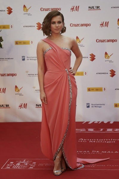 Aura Garrido attends the 18th Malaga Spanish Film Festival close ceremony