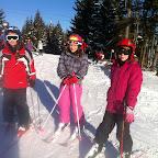 1.Skitag 2012 auf der Sommeralm
