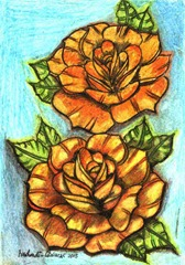 492 Two Yellow Roses
