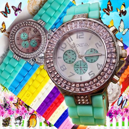 NEW fashion silicone jelly watch Geneva quartz watches