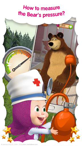 Masha and the Bear: Free Animal Games for Kids  screenshots 5