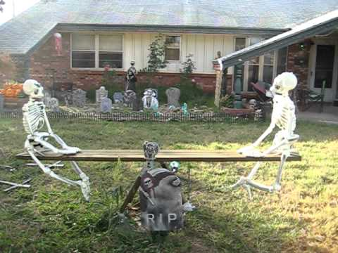 witches and added halloween decorations to adorn you home backyard into the scariest on the block halloween is one the best time to accept some funny - Halloween Outside Decoration Ideas
