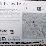 Jack Evans Track information sign (144870)