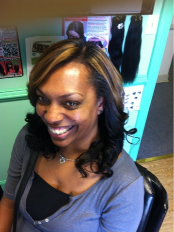 Natural Looking Sew-In Weave Hairstyles