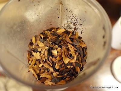 家庭で作るごぼう茶