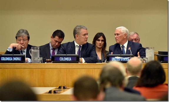 """El Presidente Iván Duque afirmó que """"nuestro deber moral es no cerrar las fronteras""""para que los venezolanos puedan salir de """"esa tragedia""""."""