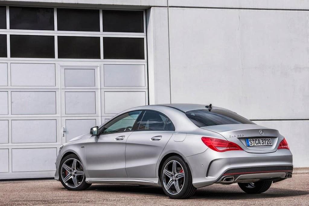 Mercedes Benz CLA Sport 2