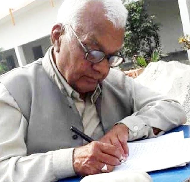 सेवानिवृत्त शिक्षाविद् डा. मातवर मिश्र नहीं रहे
