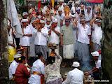 Vad vi fick berättat så var det ett genrep inför en stundande ceremoni vid ett tempel på Bali.