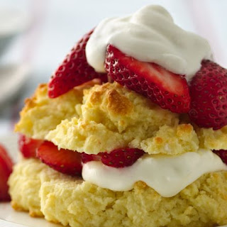 Gluten-Free Strawberry Shortcakes.