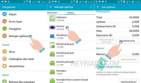 Smartphone Samsung Galaxy diluncurkan dari banyak seri dan banyak kelas mulai dari low 5 Cara Mengatasi 'Camera Failed' di HP Samsung