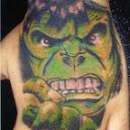 incredible hulk - tattoos ideas