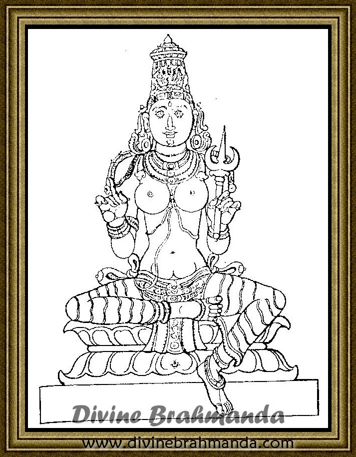 Soundarya Lahari Sloka, Yantra & Goddess To Cure Illness Of Others - 84