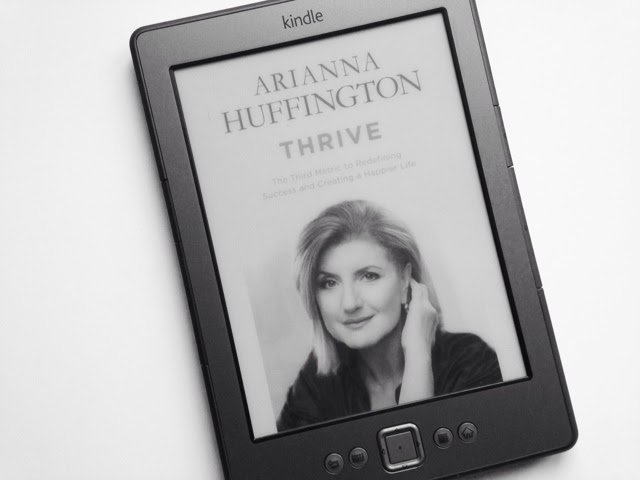 Arianna Huffington - THRIVE book cover