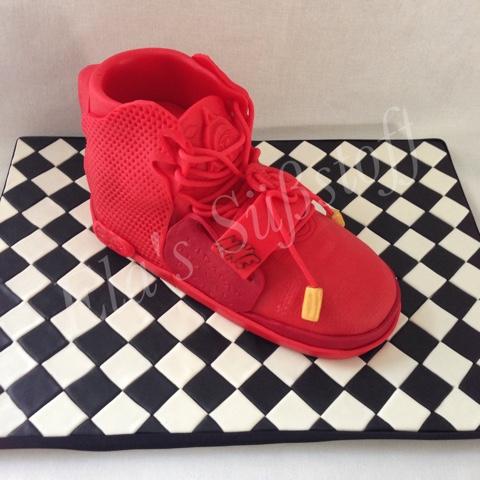 Ela S Sussstoff Nike Yeezy Schuh