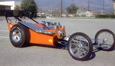 Ivo's record breaker single engine car.