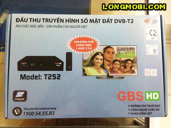 đầu thu dvb t2 gbs hd t252 thái nguyên