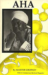 Cover of Aleister Crowley's Book Liber 242 AHA