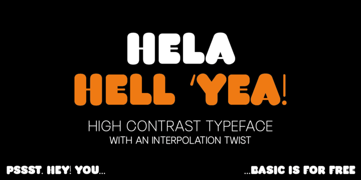 Download Hela Font Family From Renegade Fonts