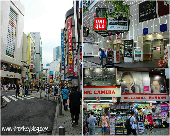 Uniqlo, BIC Camera, Etc ( Shopping Area at Shibuya )