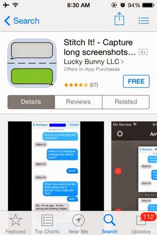 Stitch it app