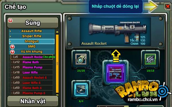 VGG hé lộ ảnh Việt hóa của Rambo Lùn Online 7