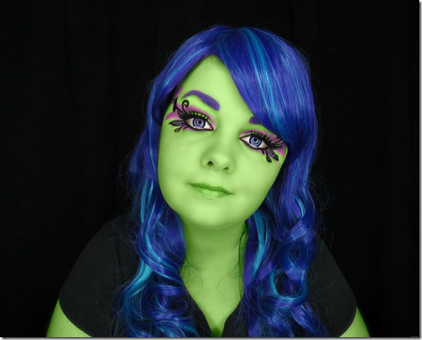 Amanita Nightshade Scream And Sugar Full Face Look
