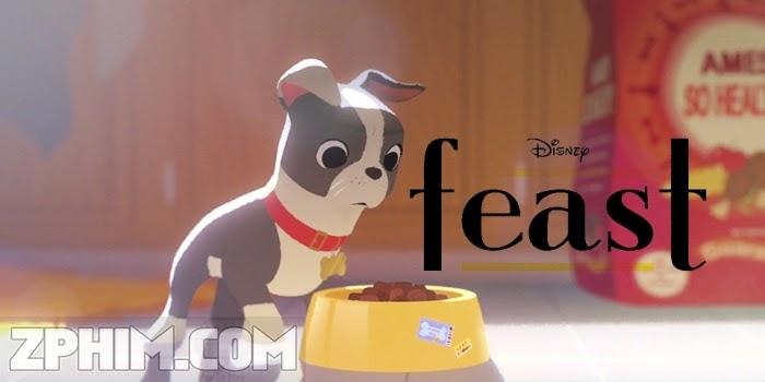 Ảnh trong phim Chú Chó Winston - Feast 1