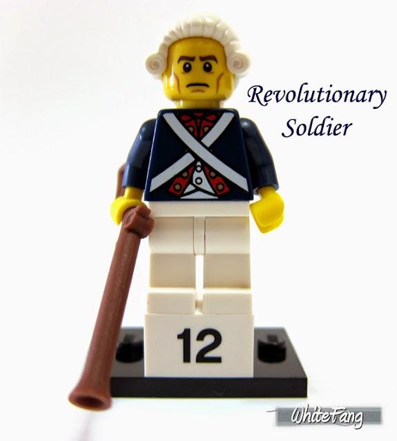 LEGO Minifigures Series 10 Revolutionary Soldier - Lính khởi nghĩa