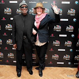 WWW.ENTSIMAGES.COM -  Ahmad Jamal, Cery Matthews   arriving   at Jazz FM Awards at One Marylebone road London January 31st 2013                                                      Photo Mobis Photos/OIC 0203 174 1069