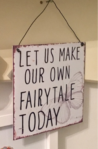 Let us make our own fairy tale