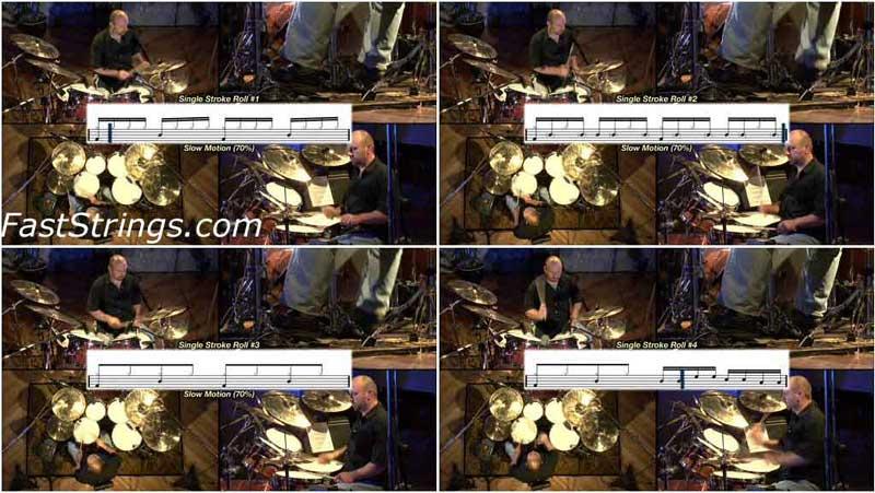 Lionel Duperron - Drum Rudiment System (Beginner): DVD 1-2