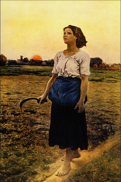 Jules Breton - Song of the Lark