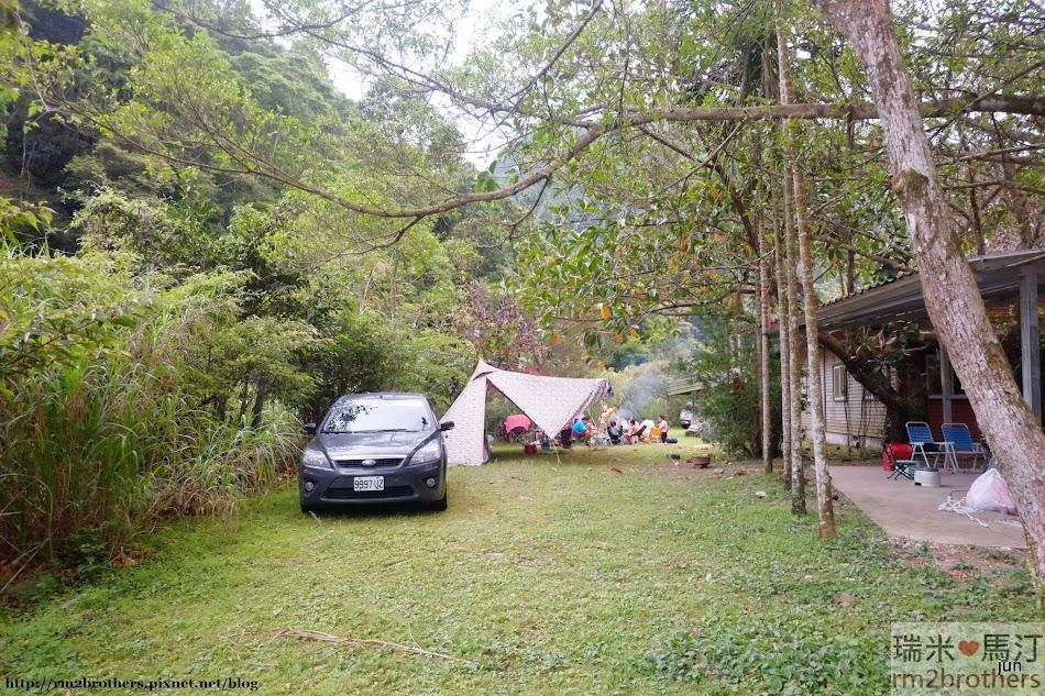 金溪茶園露營