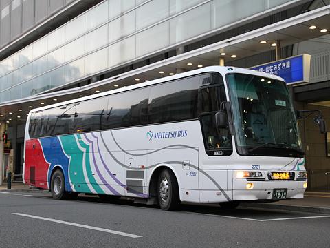 名鉄バス「青葉号」 2701