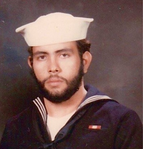 Petty Officer Third Class Florencio Lennox Campello, USN c. 1975